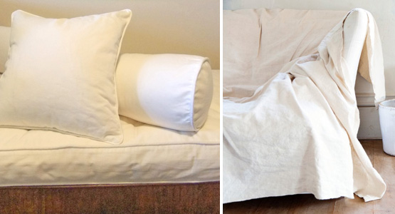Drop Cloth Slipcovers | The Slipcover Maker