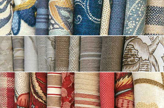 Home decor fabrics by French General