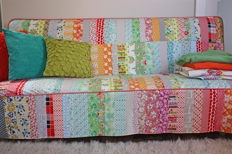 Patchwork Slipcover A Labor Of Love The Slipcover Maker