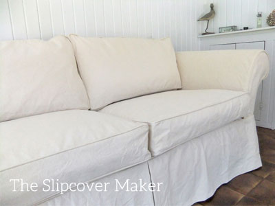 ... Enough To Cover Dark Colored Upholstery. Shrinkage: White 3u2033 On A One  Yard Length, 2u2033 On The Width. Slipcover Made With This White Canvas: Pamu0027s  Chaise