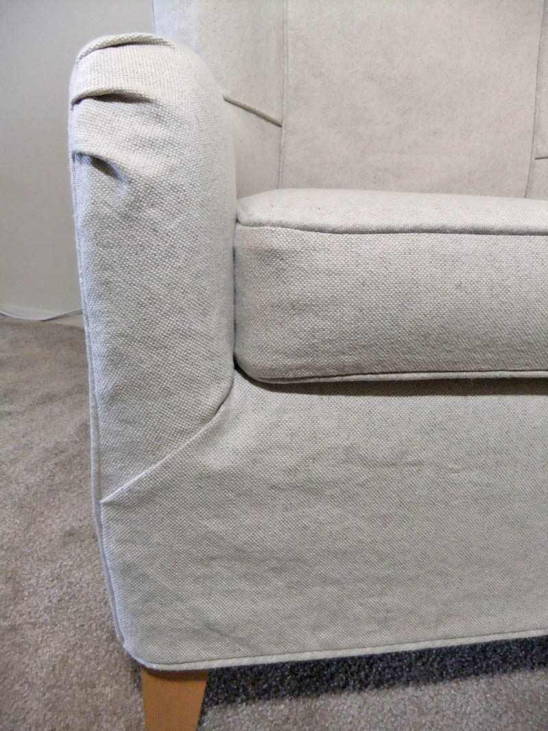 Summer Slipcover For Wingback Chair Amp Ottoman The Slipcover Maker