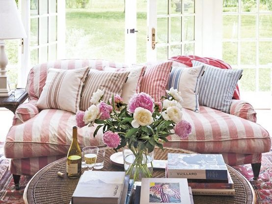 Striped Slipcovers What's Your Style