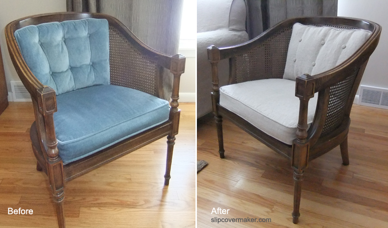 Linen Cushion Slipcovers For Barrel Chairs