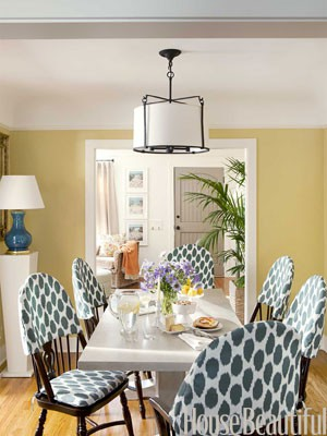 chair topper slipcovers photo credit house beautiful magazine - Slip Covers For Chairs