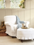 Pottery Barn Savannah Slipcover Chair