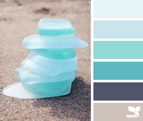 Iced Summer color palette by Design Seeds