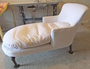 Slipcovermaker the slipcover maker for Ariel chaise lounge