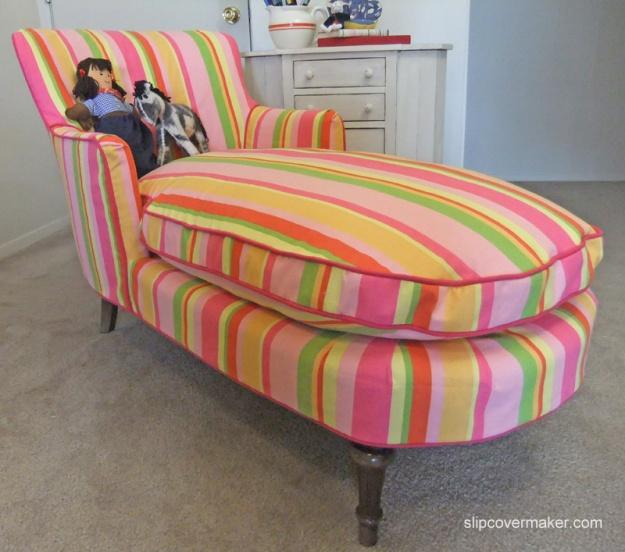 Girl's Pink Slipcover by Karen Powell