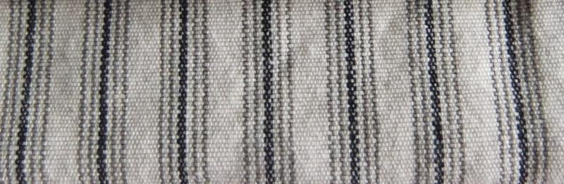 fabric black white catalina ticking stripe canvas
