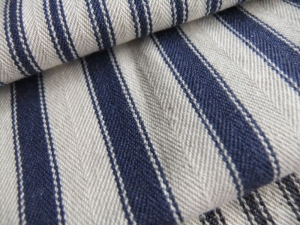 Tinsmiths Ticking Fabric England