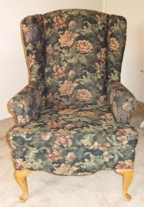 barb wing back chair 1