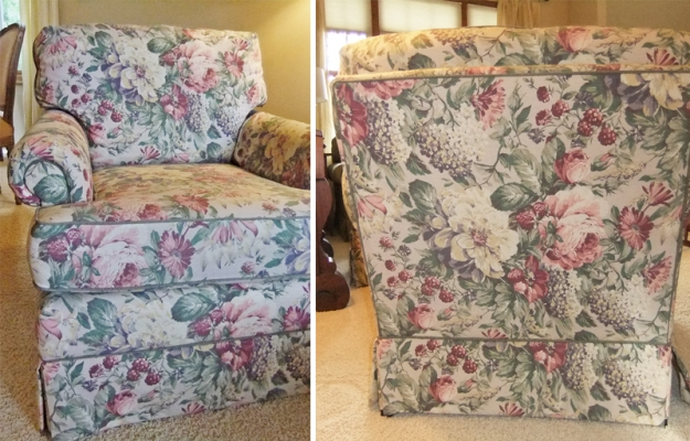 Armchair Before Slipcover