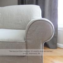sallys linen sofa slipcover