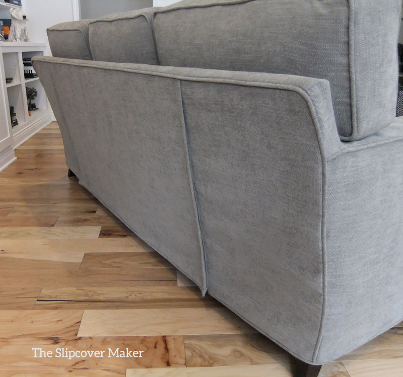 Sofa Slipcover With Double Zip Opening