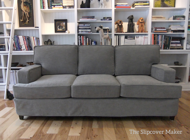 Wonderful Sofa Slipcover In Pottery Barn Performance Tweed. Slipcover By Karen Powell  In PB Performance Tweed