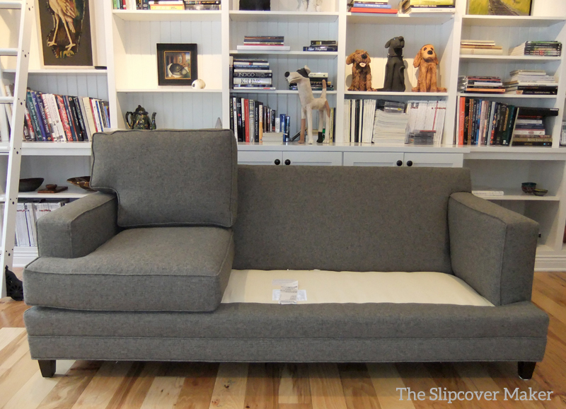 Sofa Slipcover In Pottery Barn Performance Tweed