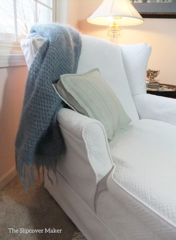 From Matelasse Bedspread to Chaise Slipcover : chaise slip covers - Sectionals, Sofas & Couches
