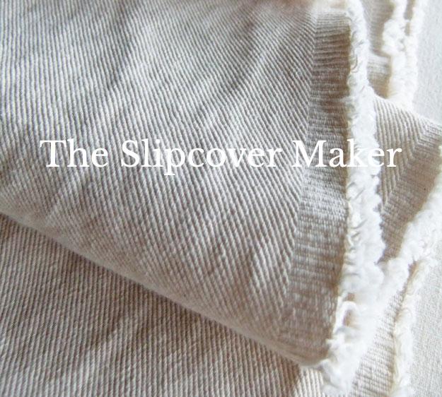 The Slipcover Maker Natural Denim
