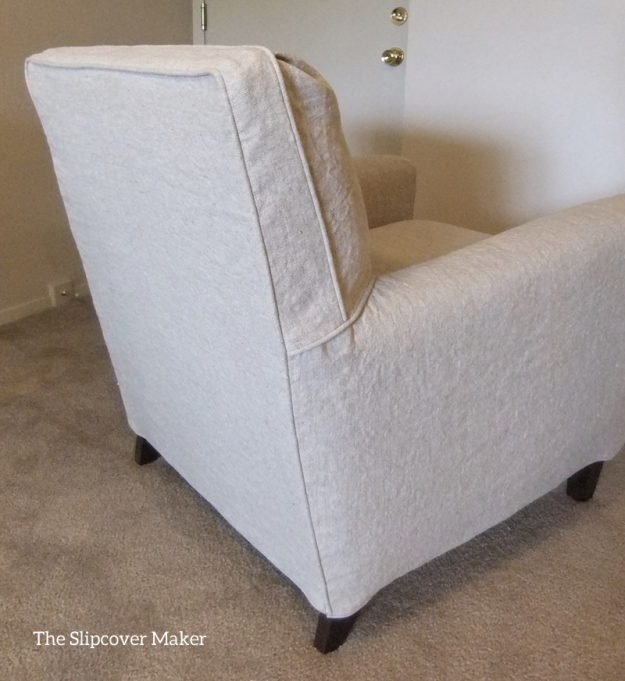 Custom Fit Linen Slipcover