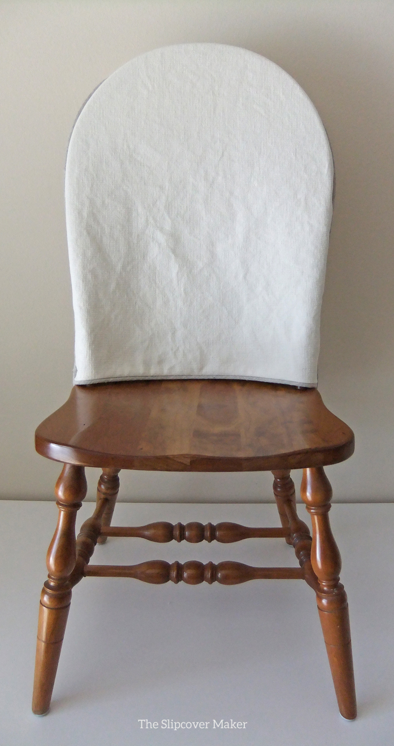 Slipcover Makeover For Windsor Dining Chairs