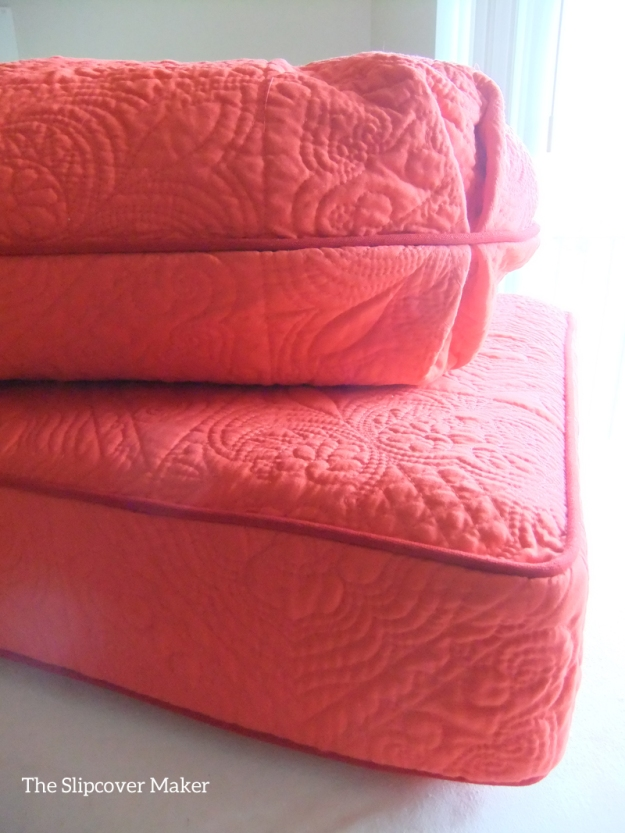Custom Quilted  Cushion Covers