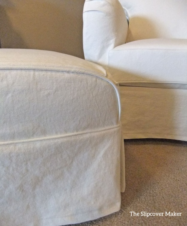 White Denim Custom Slipcovers