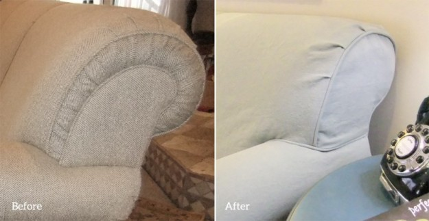 Simplified Sofa Slipcover