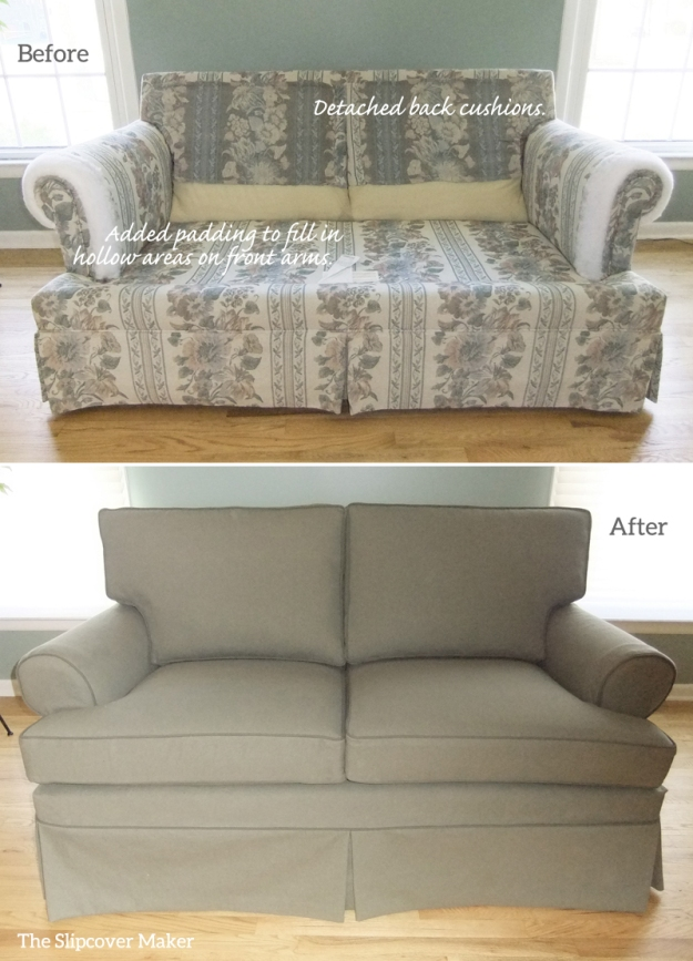 stretch slipcover free plush sure slipcovers product home loveseat cream shipping fit garden