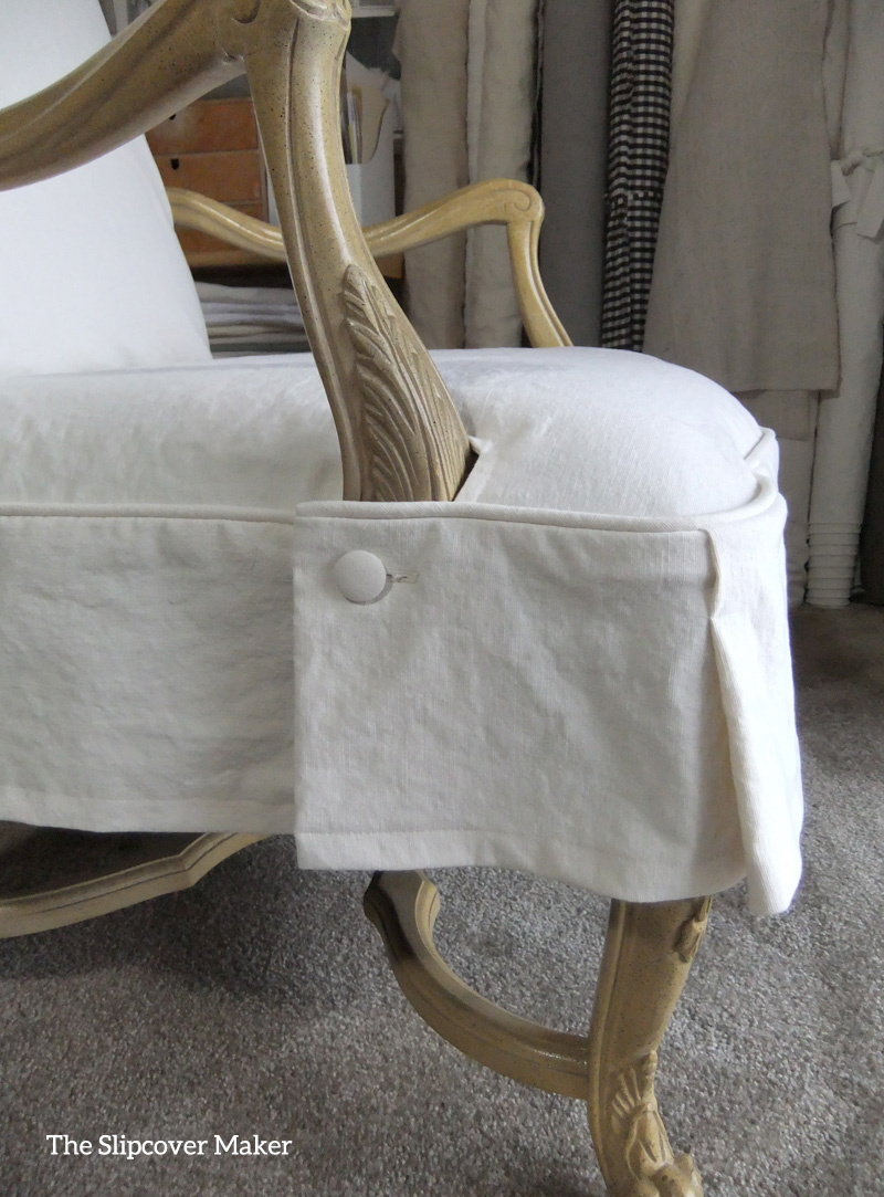 Casual Canvas Slipcovers for Formal French Chairs | The ...