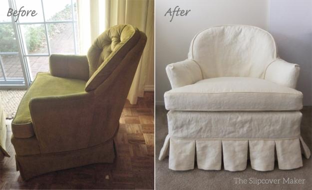 Hemp Canvas Chair Slipcover
