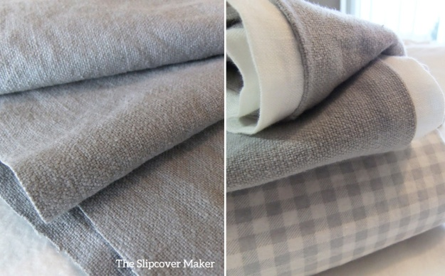 Linen Cotton Soft Grey for Slipcovers