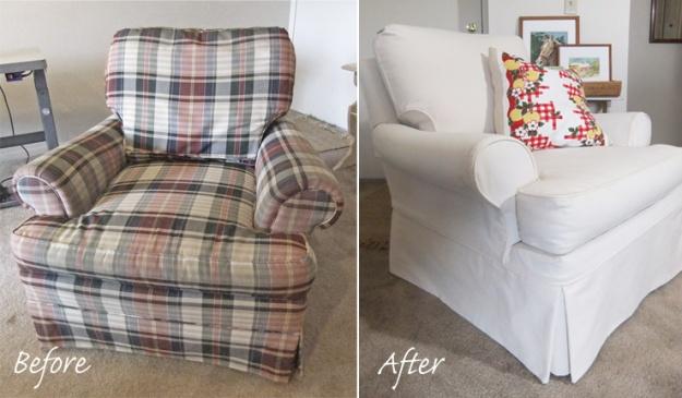 Custom Slipcover for Sherrill Chair