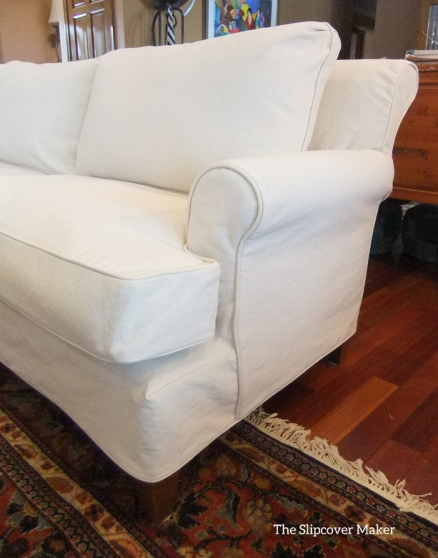 Washable Natural Sofa Slipcover