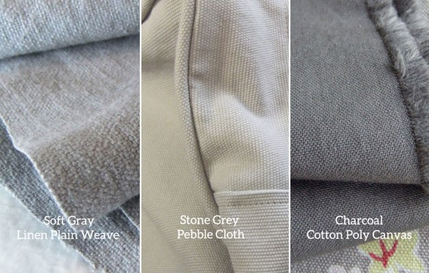 Big Duck Grey Slipcover Fabrics