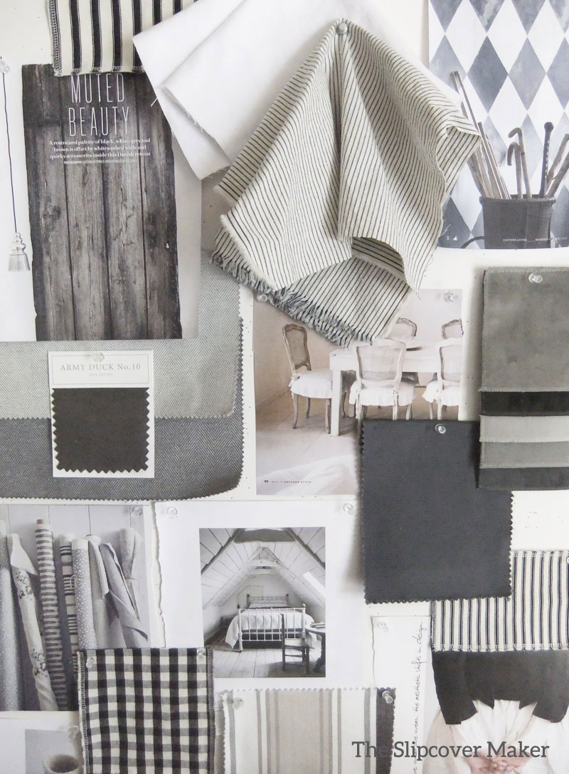Slipcover fabric by the yard - Grey Slipcover Fabric Inspiration