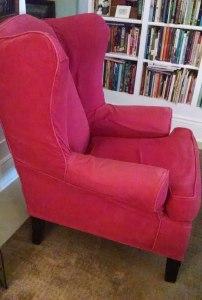 Pottery Barn Wingback Chair