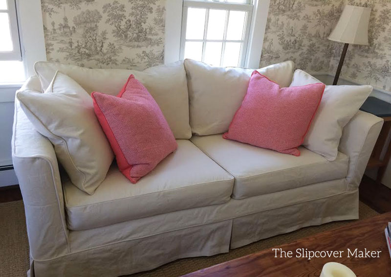Superbe Custom Slipcover Mitchell Gould Sofa