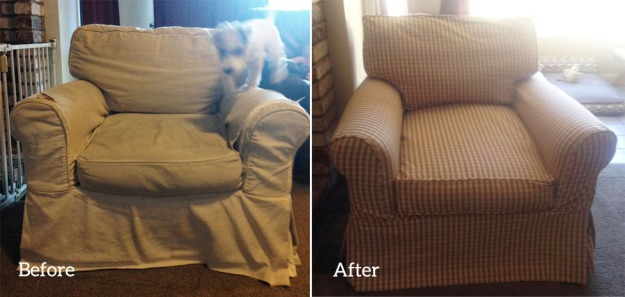 Custom Slipcover for Restoration Hardware Chair