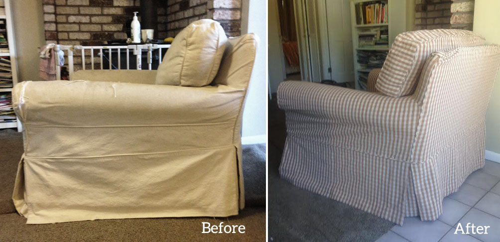 Slipcover For Restoration Hardware Chair