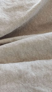 Upholstery Linen and Cotton in Color Oatmeal from Gray Line Linen