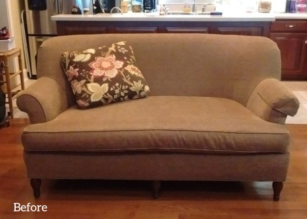 Upholstered-Loveseat-with-Bench-Cushion