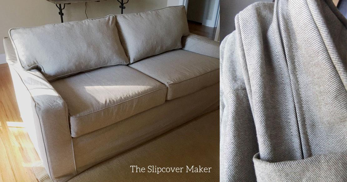 custom slipcover The Slipcover Maker