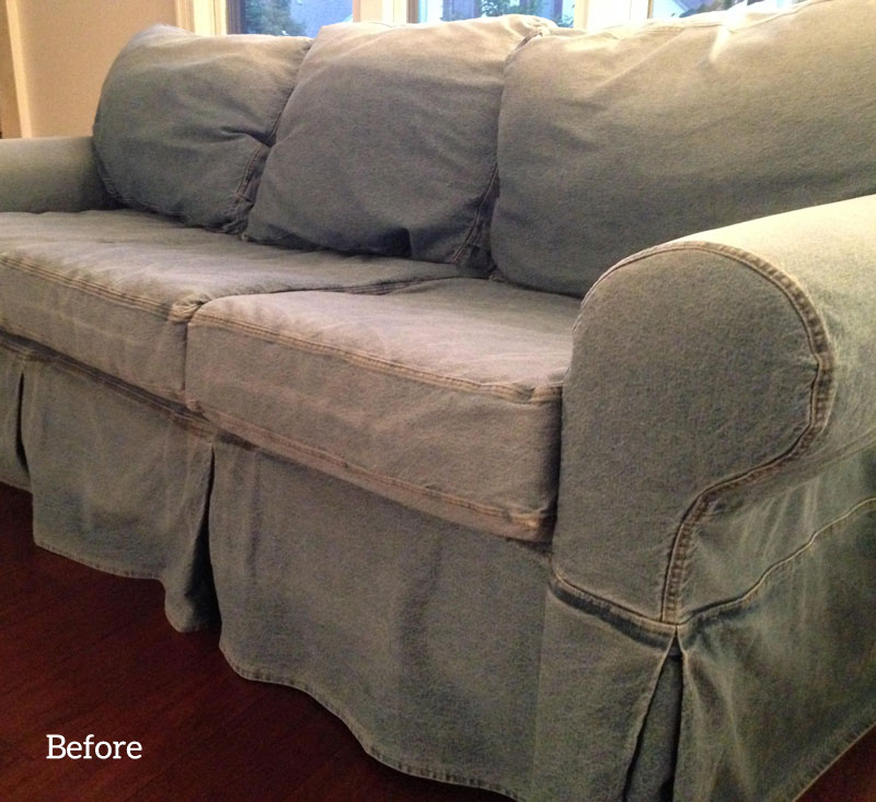 Slipcover Copy For Pottery Barn Basic Sofa The Slipcover Maker