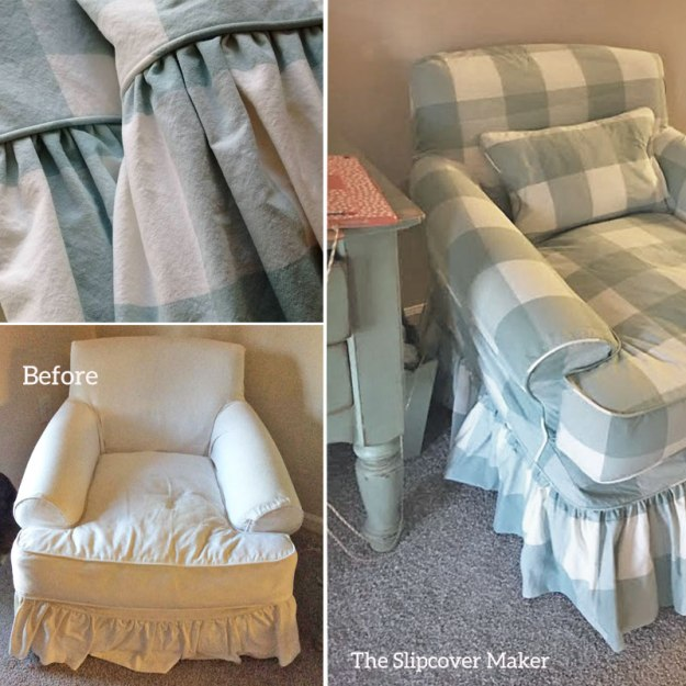 Slipcover Copy for Shabby Chic Chair