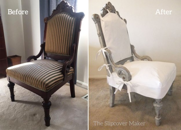 French Chair Makeover