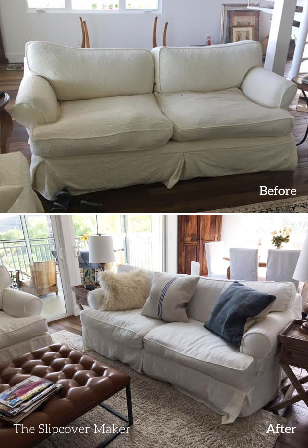 Favorite White Linen for Sofa Slipcovers | The Slipcover Maker