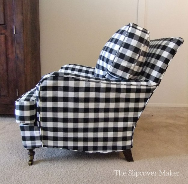 Naples Shade Buffalo Check Slipcover