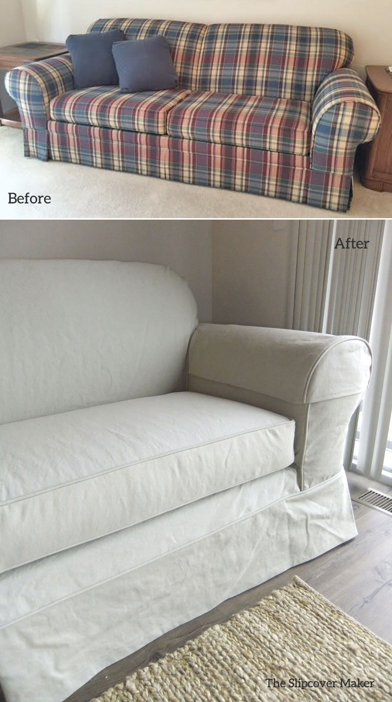 sofa slipcovers the slipcover maker page 2. Black Bedroom Furniture Sets. Home Design Ideas