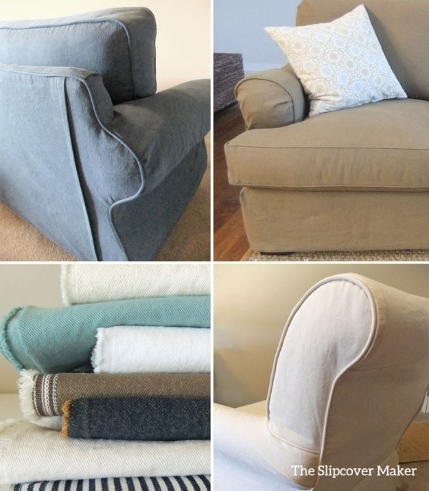 Denim Fabrics for Slipcovers