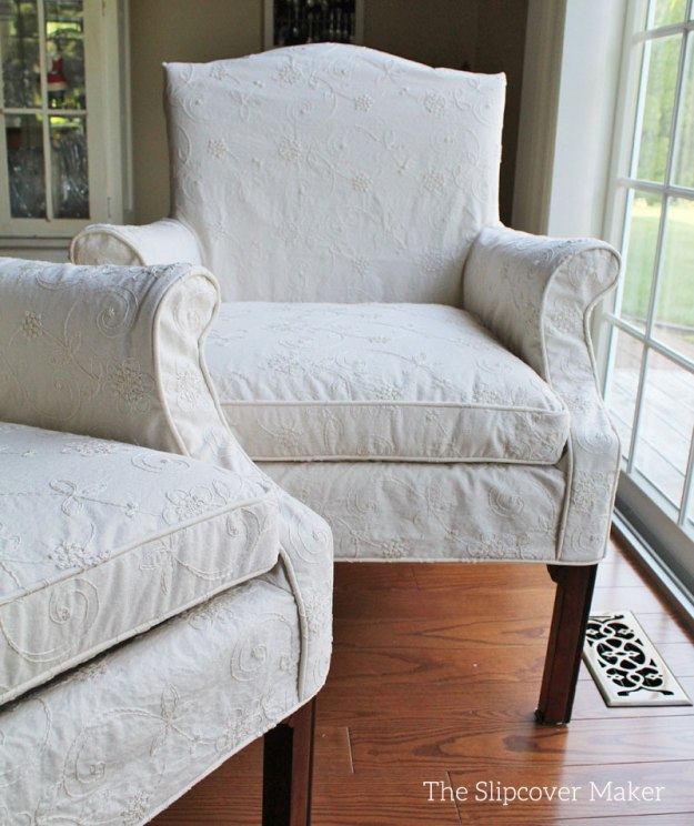 Custom Slipcovers Tailored To Fit
